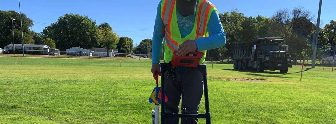 ground penetrating radar machine